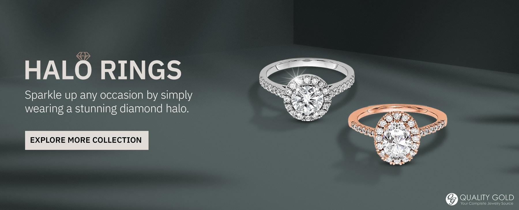Explore Diamond Halo Rings Collection At Henry's Jewelers