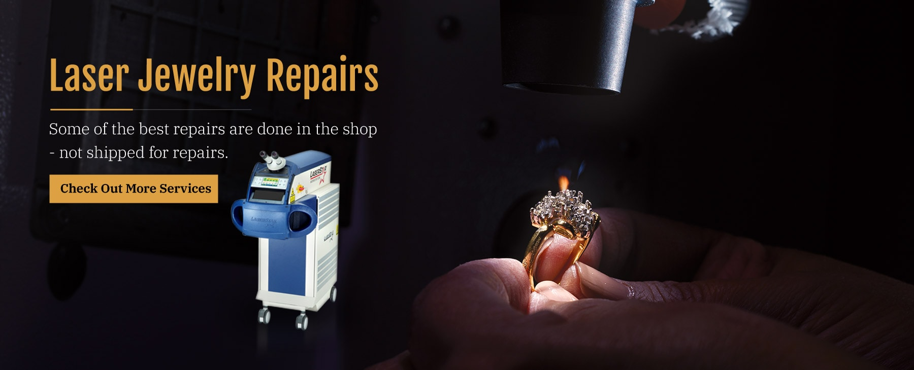 Laser Jewelry Repair In Warrington, PA At Henry's Jewelers